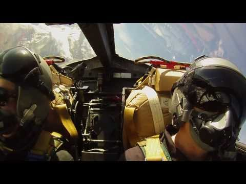 Fighter Jet Ride in a Hawker Hunter fighter jet in Switzerland, HD