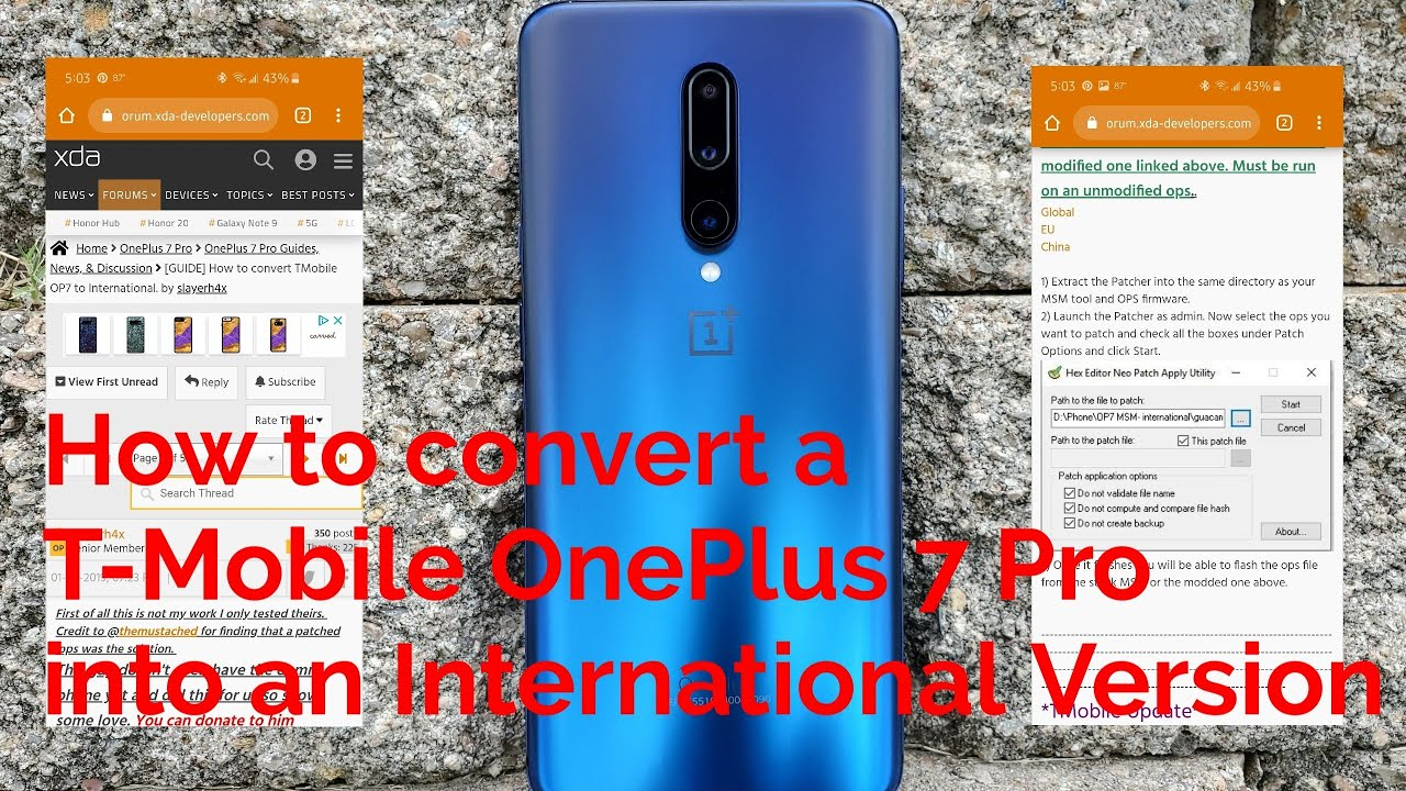 How to Convert T-Mobile OnePlus 9 To Global or Other Firmware