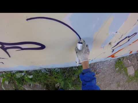 Graffiti - Rake43 - Painting Under The Bridge