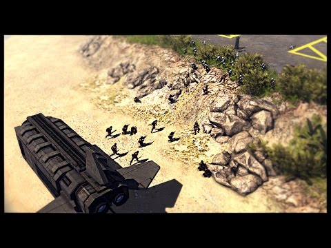 Rebel Reinforcements Arrive - Battle of Scarif | Men of War Assault Squad 2 Star Wars Mod Gameplay |