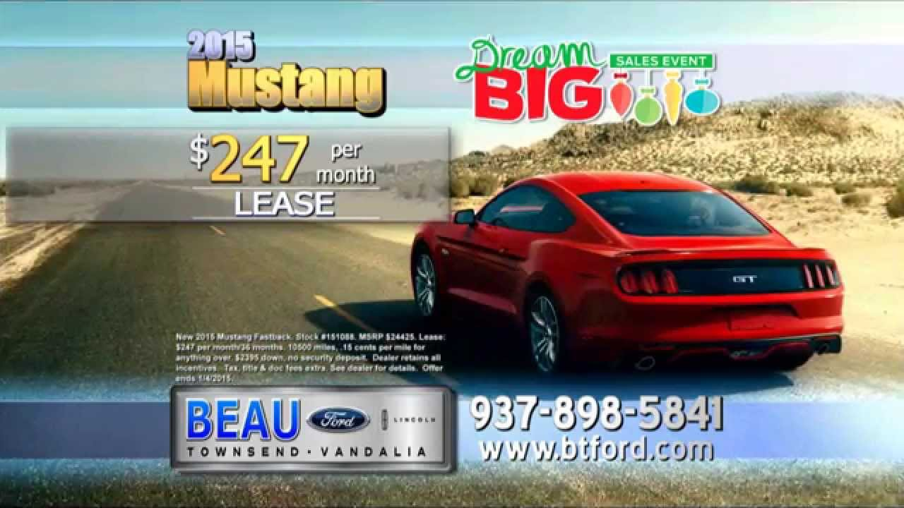 Beau Townsend Ford >> December 2014 Specials at Beau Townsend Ford Lincoln - YouTube