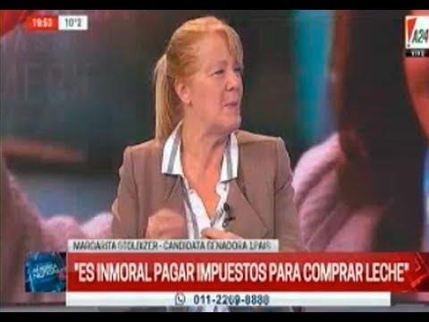 Margarita Stolbizer en America Noticias 15 07 2017