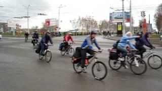 Общесибирский велопробег 1 мая 2009, старт из Кемерово