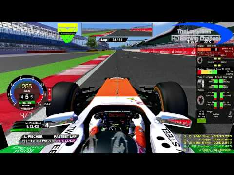 rF1-Simracing.eu - OnBoard British Grand Prix