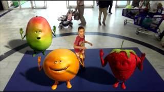 Du 26 au 28 septembre, shakez votre booty fruit avec l'Oasis Fruit ...