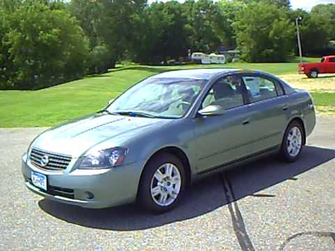 Nissan Altima 2 5s >> 2006 Nissan Altima 2.5S Special Edition - YouTube