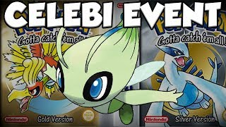 how to get gold silver celebi event pokemon