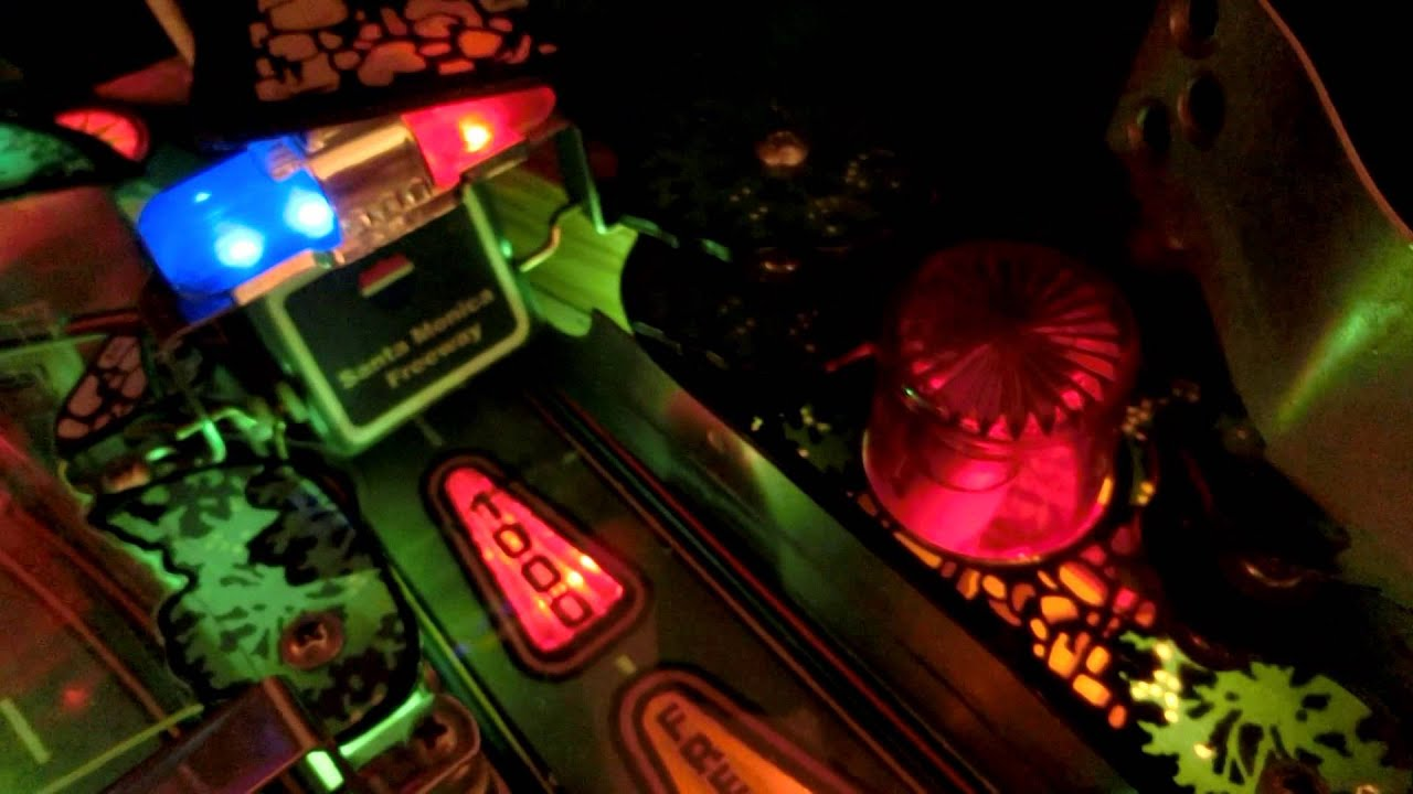Williams High Speed Pinball with many Mods