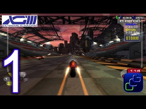 XGIII: Extreme G Racing Walkthrough - Gameplay Part 1 - Talon Career - Lithium League