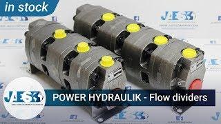 POWER HYDRAULIK 113124200 + 113123201 (IN STOCK) FLOW DIVIDERS - DIVISORI DI FLUSSO