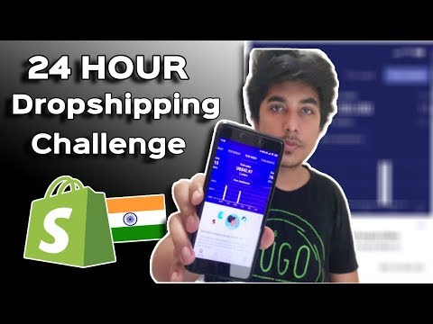 24 Hour Quarantine Shopify Dropshipping Challenge (Revealed Everything) thumbnail