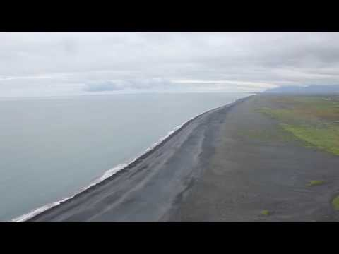 1 hour Iceland Ocean Waves - Sleep, Study, Relax, Meditation