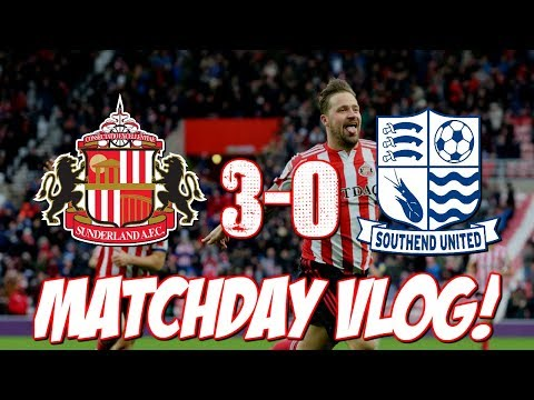 SUNDERLAND 3-0 SOUTHEND MATCHDAY VLOG | KING MAGUIRE WITH A SCREAMER!