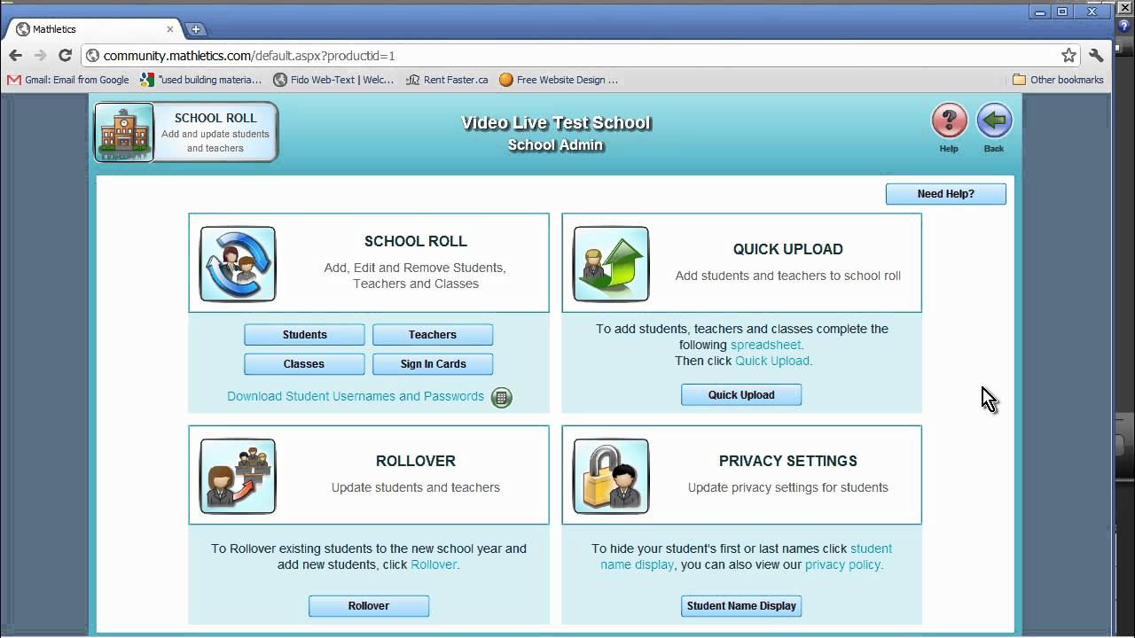 Mathletics - New Administrator Tools To Add, Edit and Delete Student ...