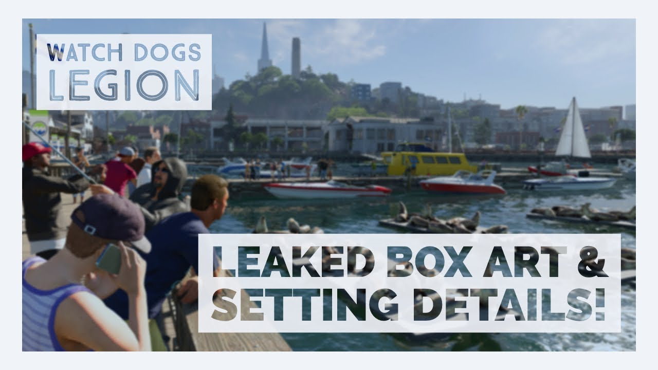 Watch Dogs 3 Legion Box Art Leaked Guns Cars Setting Youtube