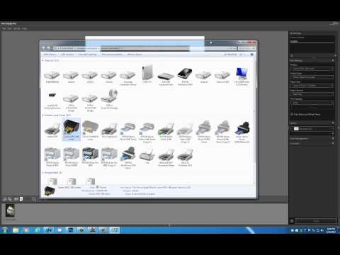 Here is the SIMPLEST way to use the CANON Print Shop PRO Plugin