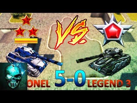 Colonel (Ghost_Animator_XP) Vs Legend 3! (XP/BP #5) - Tanki Online - Ghost Animator TO
