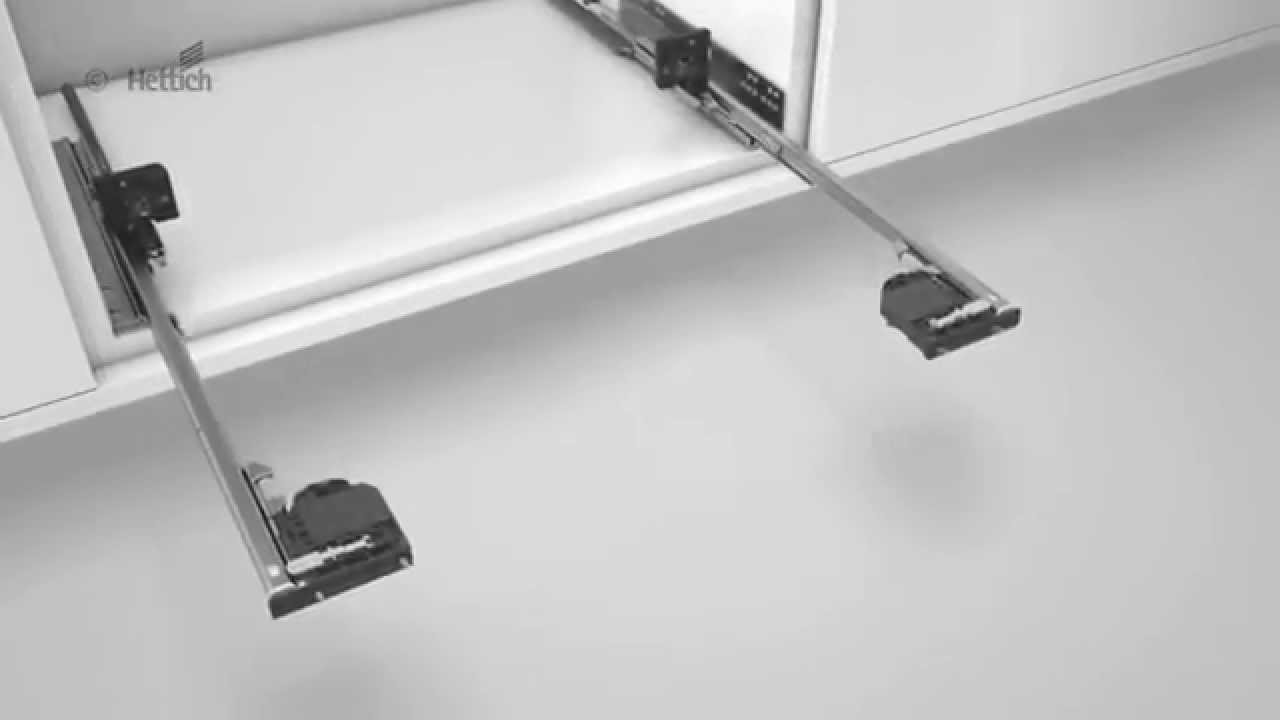 Hettich Quadro 4D Full Extension Soft Close Runner