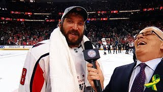 Alex Ovechkin to fans: Get some beers & start celebrating!