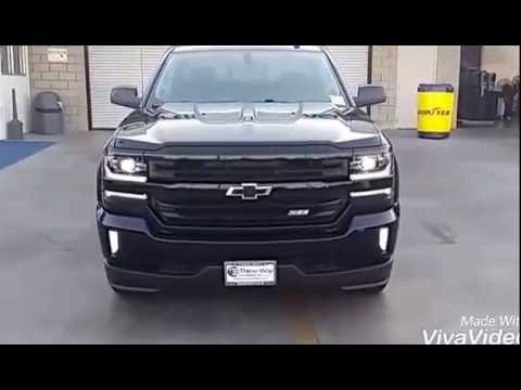 Three Way Chevrolet >> 2016 Chevrolet Silverado LTZ Z71 Midnight edition - YouTube