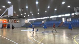 BASKETBALL SKILLS TRAINING WITH COACH ANGEL. PROFESSIONAL BASKETBALL PLAYERS. NCAA / UER PINEDA