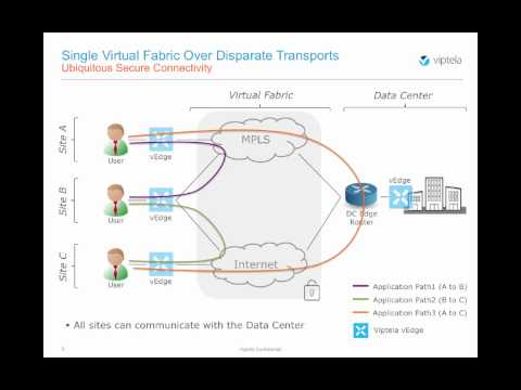 Single Overlay WAN Fabric (SD-WAN Tutorials)