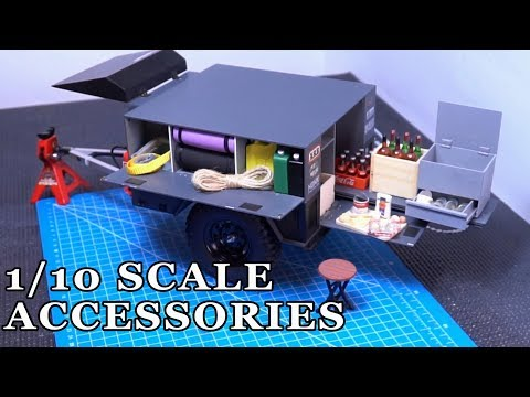 1/10 Scale Accessories For Custom RC Trailer - Part 1