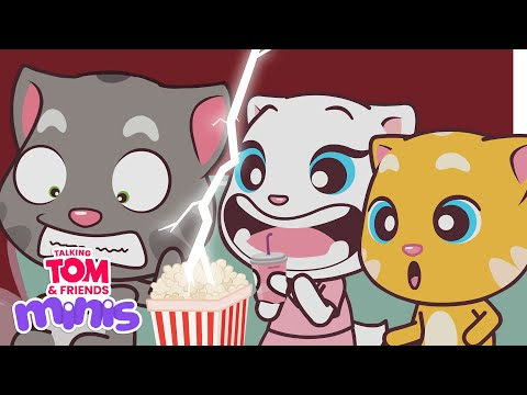 Talking Tom and Friends Minis - Horror Movie Night (Episode 14)