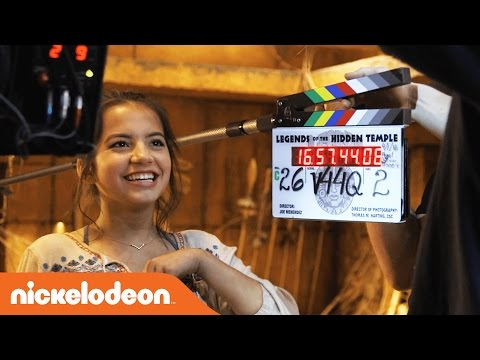 Legends of the Hidden Temple | BTS w/ Isabela Moner | Nick