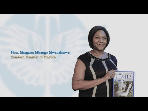 Interview with Hon. Margaret Mhango Mwanakatwe, Minister of Finance | Zambia