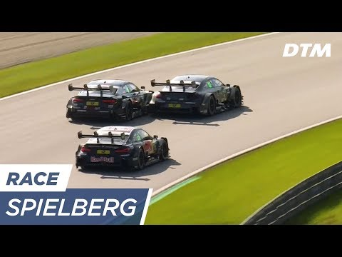 Triple Fight: Wittmann vs Wickens vs Rast - DTM Spielberg 2017