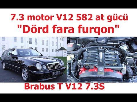 Şumaxerin Keçmiş Maşını: Brabus T V12 7.3 S Mercedes-Benz E-klas S210