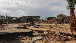 Balangkayan and Hernani destroyed by Haiyan