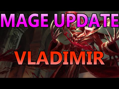 MAGE UPDATE: VLADIMIR TOP - Full Gameplay Commentary