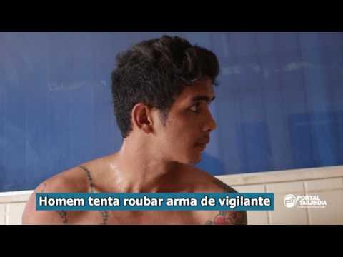 Jovem tenta roubar arma de vigilante do Fórum em Tailândia, PA