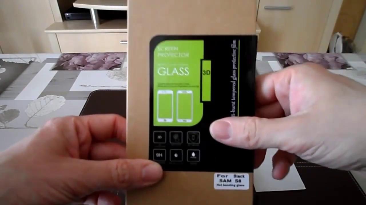 Tuto Samsung Galaxy S8 Protection d écran FULL Cover en verre trempé Xeptio  smartphone .🇫🇷📲📳🔨 c7a233a59139