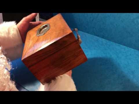 Antique Victorian Walnut Jewellery Box For Sale Online