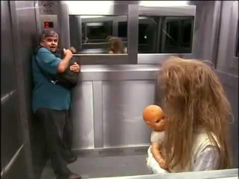 Pegadinha Elevador Silvio Santos (Ghost Girl Elevator Prank)