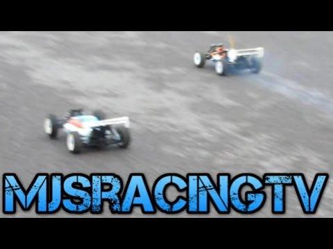 Nitro Vs Electric Drag Races Rb One Nitro Buggy Vs Xray