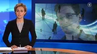 ARD Tagesthemen: #Tempra - Wie wird wo geschnüffelt? Deutsche Daten werden vollerfasst - 24.6.2013