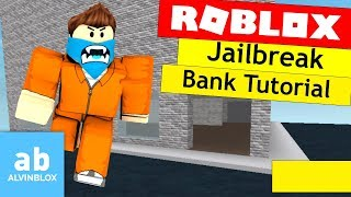 Roblox Jailbreak Bank Tutorial - Make A Robbable Bank