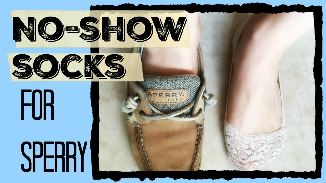 4a48045dc4a0b No show socks for Sperry shoes ( for women   men) - YouTube