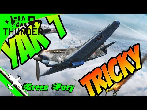 YAK1 - War Thunder - 2 types of overshooting - Defensive flying