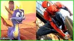 Evolution of Insomniac Games Video Games 1996-2019