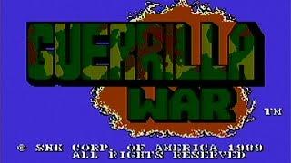 Guerrilla war - nes gameplay