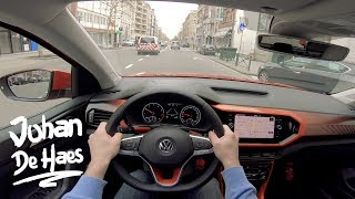 VW T-Cross Life 1.0 TSI 115 hp POV Test drive