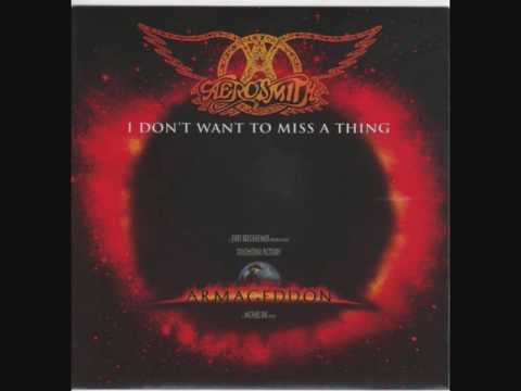 Aerosmith - I Don't Want to Miss a Thing (Vocal Acapella / Vocal Track) Original Song