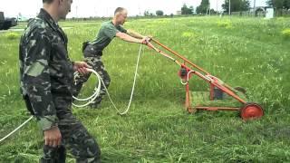 военная газонокосилка