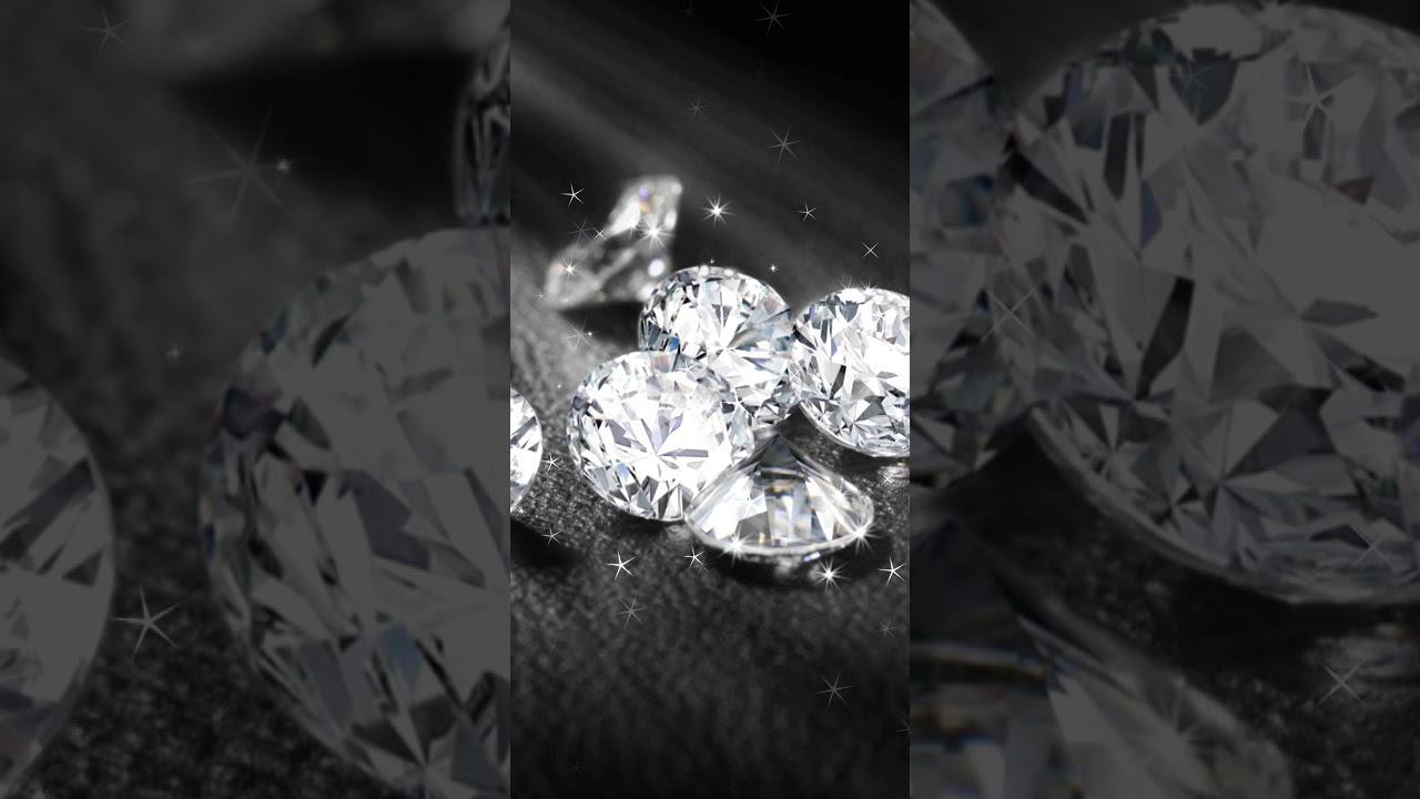 Diamond Jewellery Wallpaper Diamond Sparkle Wallpaper Youtube