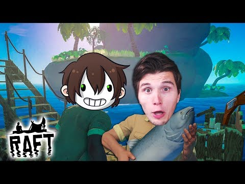 Wir betreten die erste INSEL ☆ Raft #04